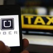 Le conflit taxi versus uber vu depuis Twitter